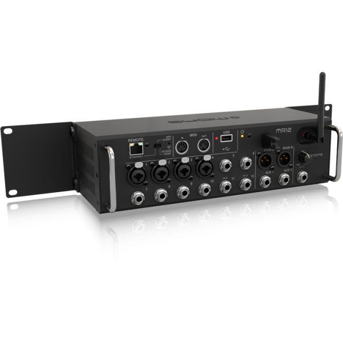 Midas MR12 12-Input Tablet-Controlled Digital Mixer