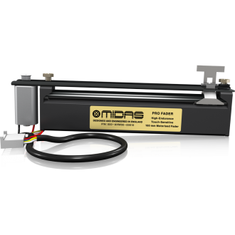 Midas PRO FADER High-Endurance Touch-Sensitive 100 mm Motorised 200mm Cable