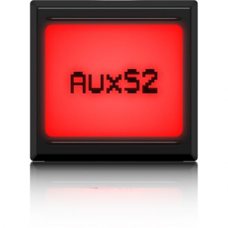 Midas PRO LCD SWITCH Pushbutton Switches with LCD Display and LED Backlight