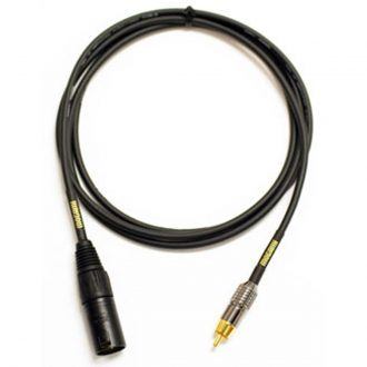 Mogami GOLD XLRM-RCA Audio Adapter Cable