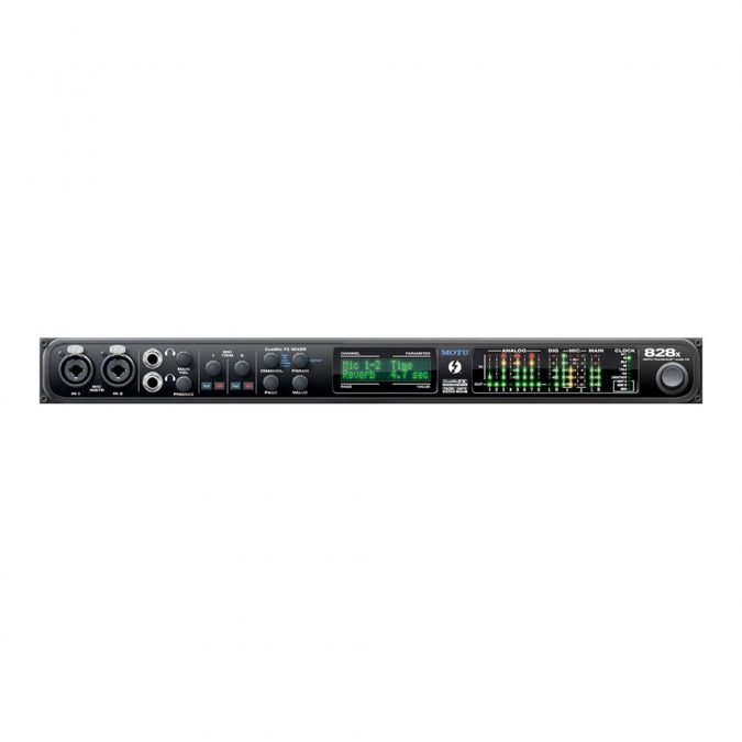 MOTU 828X Thunderbolt Recording Interface
