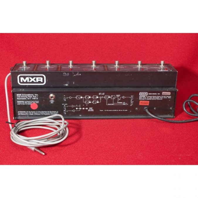 MXR Omni Guitar FX Processor with Footswitch