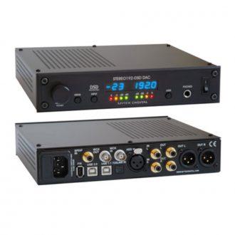 Mytek Stereo 192-DSD DAC – Preamp – Black