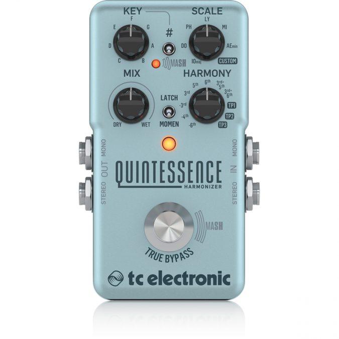 TC Electronic Quintessence Harmony Effects Pedal