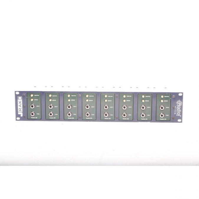 Radial J-Rak with 8 JDI Passive DI's (Used)