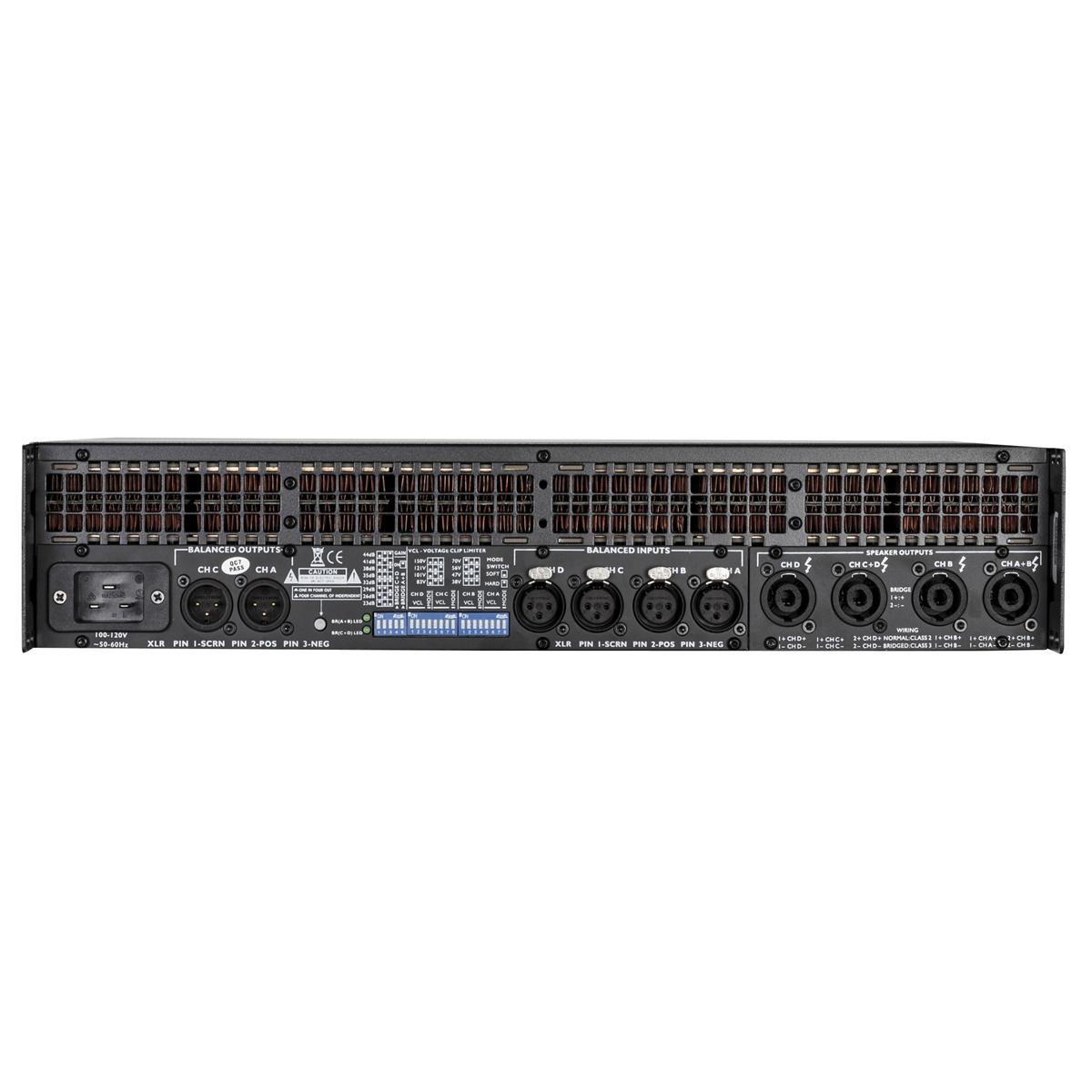 2800w High Power Audio Amplifier