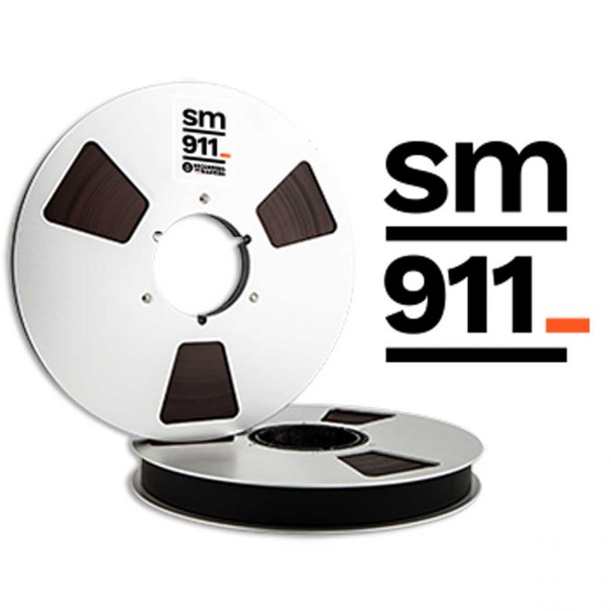 Recording The Masters SM911 Professional Analog Audio, Tape Widths: 1/4″, 1/2″, 1″, 2″