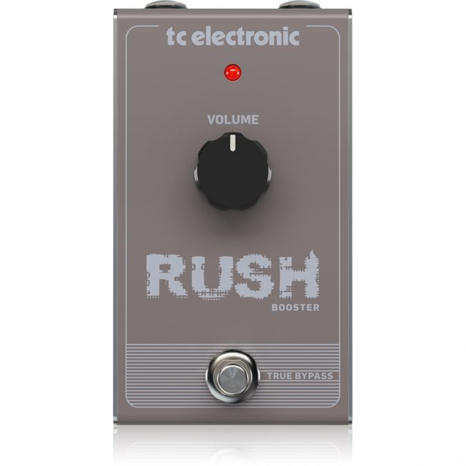 TC Electronic Rush Booster Effects Pedal