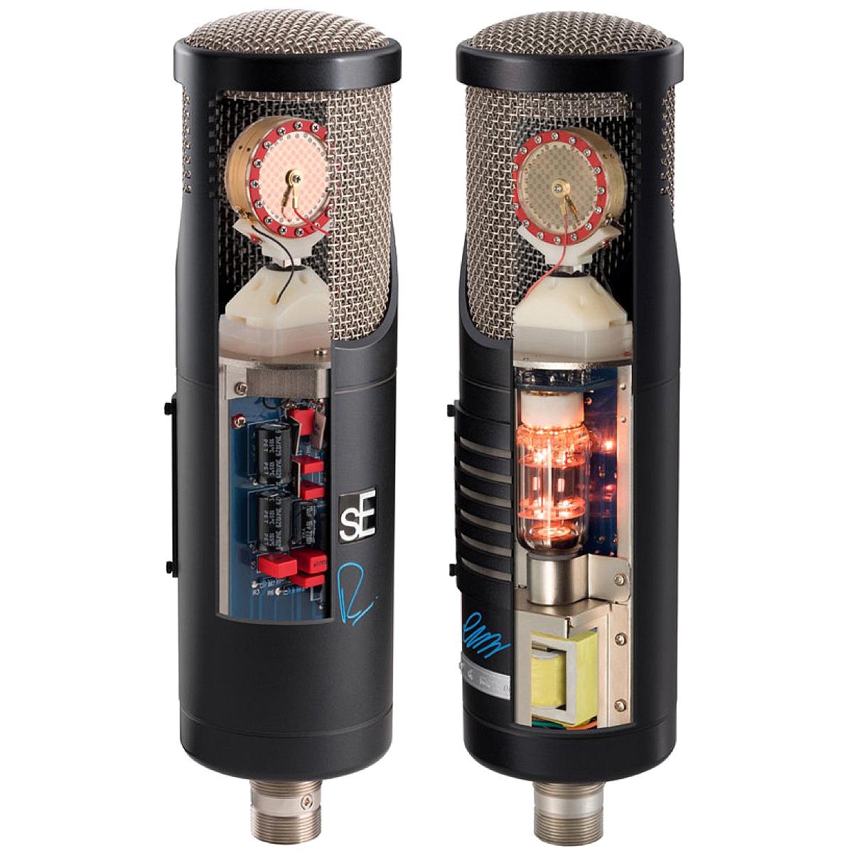 microfoni a condensatore SE stato solido vs valvolare