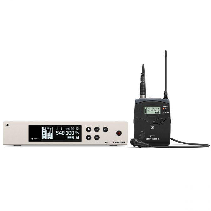 Sennheiser ew 100 G4-ME4 Wireless Lavalier Mic Set