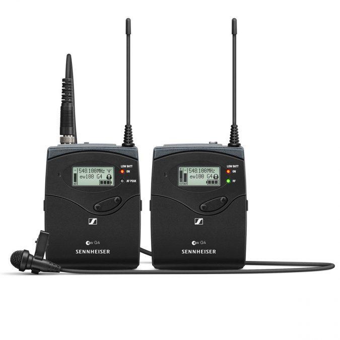 Sennheiser ew 112P G4 Wireless Lavalier Mic Set