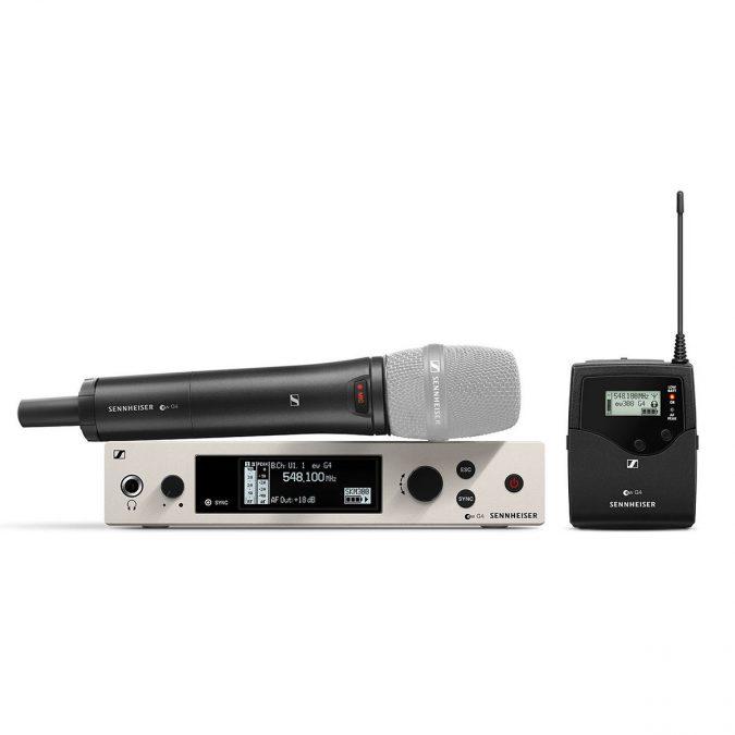 Sennheiser ew 300 G4-BASE COMBO Wireless Mic S/s