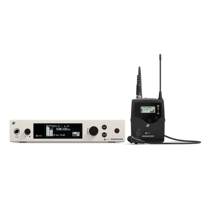 Sennheiser ew 300 G4-ME2-RC Wireless Lavalier Mic Set