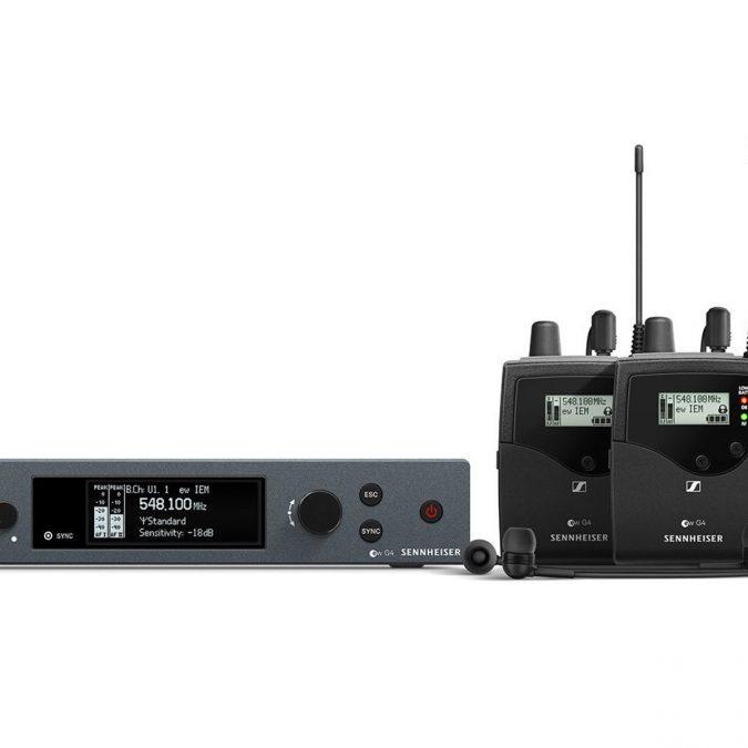 Sennheiser ew IEM G4-TWIN Wireless Monitor Sys