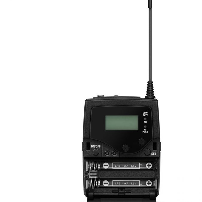 Sennheiser SK 300 G4-RC Wireless Transmitter Mic S/s