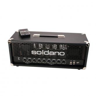 Soldano PLUS-100 100 Watt 2-Channel Hot Rod Guitar Combo Amplifier