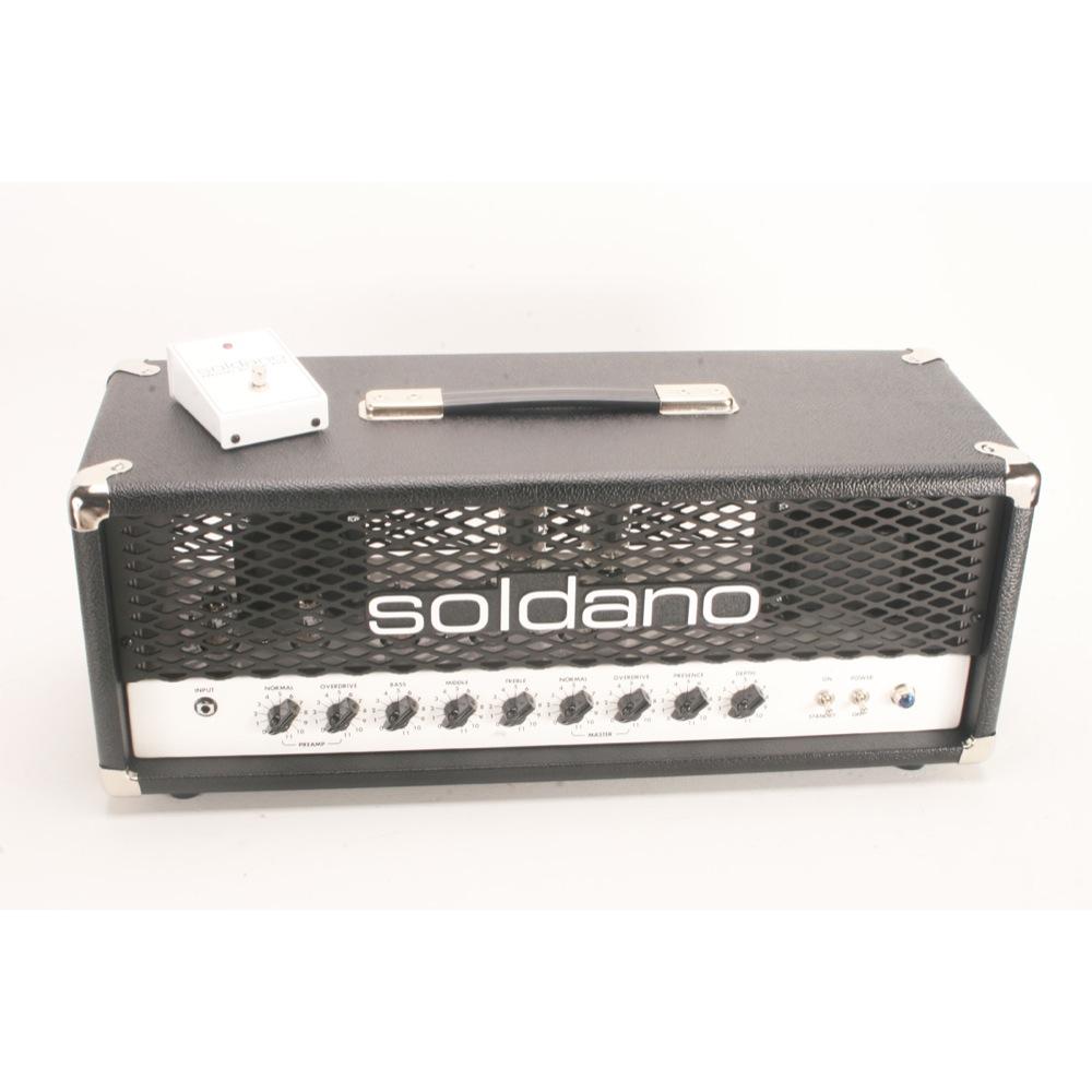 Soldano PLUS-50 50 Watt 2-Channel Hot Rod Guitar Combo Amplifier