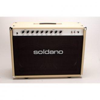 Soldano Reverb-O-Sonic Combo 50 Watt 2-Channel Guitar Combo Amplifier