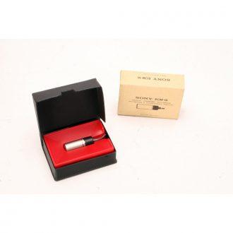 Sony ECM16 Electret Condenser Lapel Mic w/ 3.5mm jack (NOS)