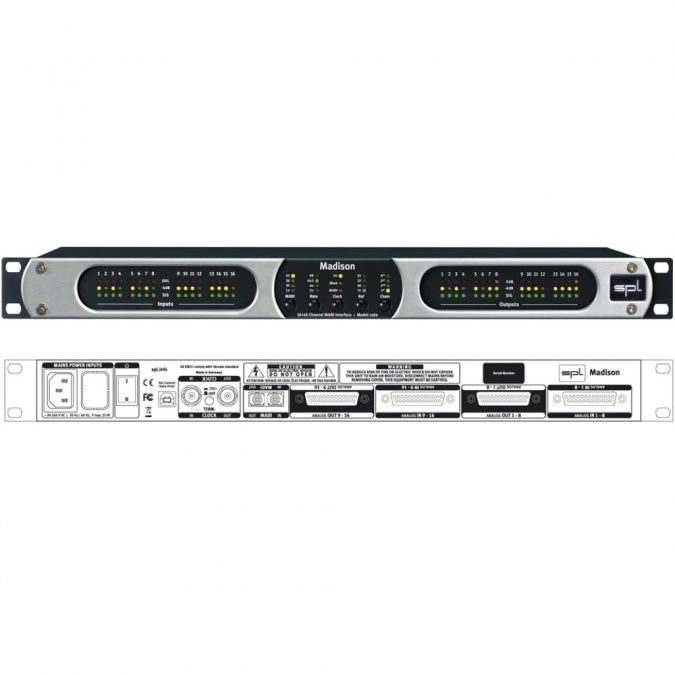 SPL Madison 16-Channel Converter
