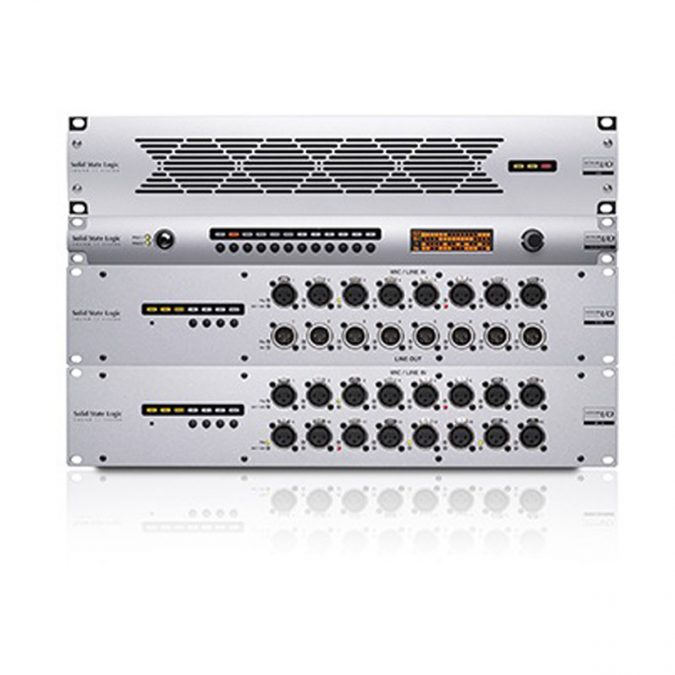 SSL Standalone High-Specification Madi to IP Audio Network Interface