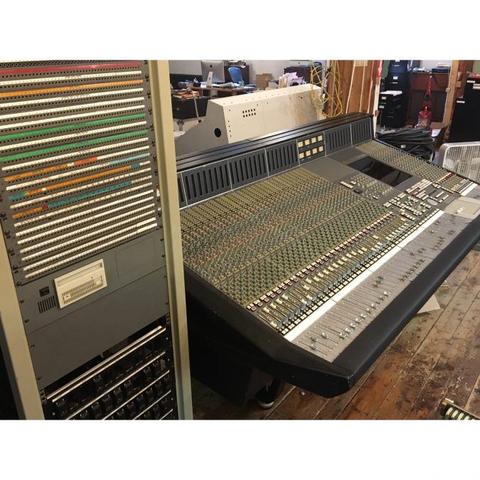 Historic SSL 9040J With Remote Patch Completely Restored