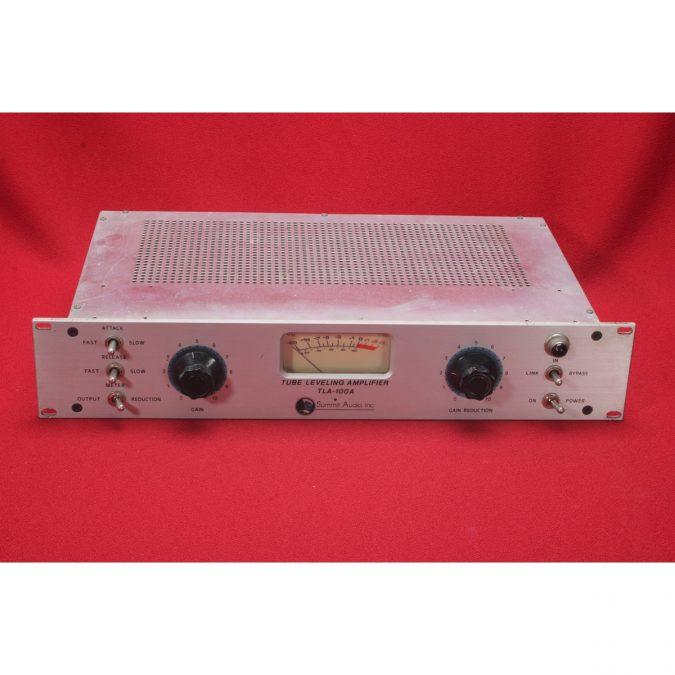 Summit TLA-100A Mono Tube Opto/Solid State Compressor (Used)