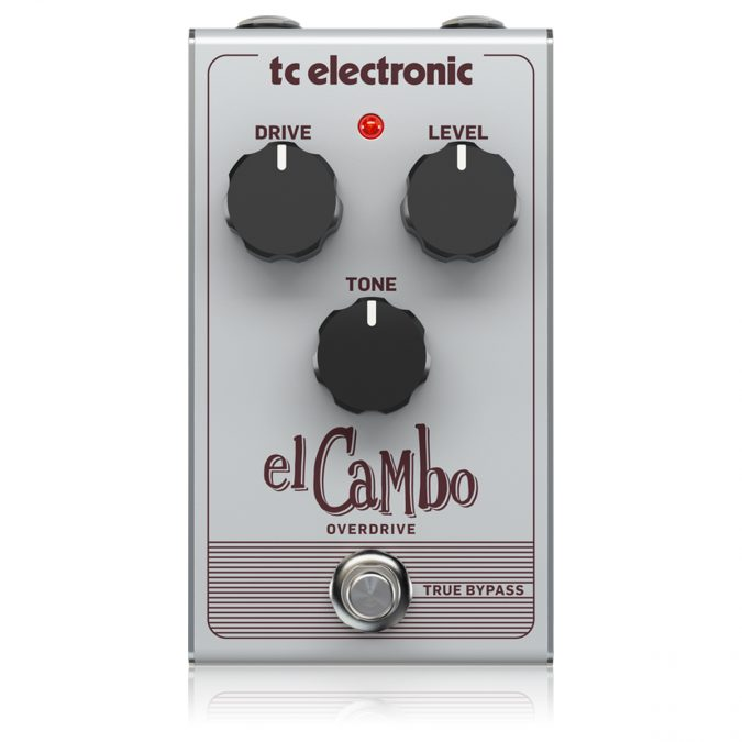 TC Electronic El Cambo Overdrive Pedal