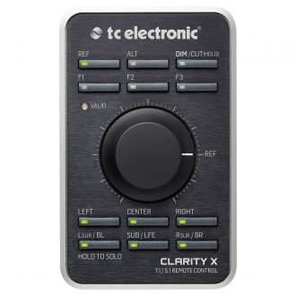 TC Electronics CLARITY-X Package Monitor Controller