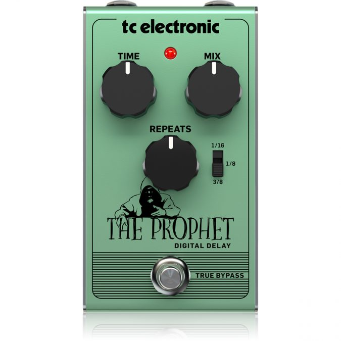 TC Electronic The Prophet Digital Delay Effects Pedal