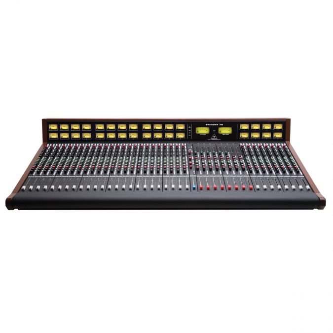 Trident Audio 78 Series Analog Mixing Console with Meter Bridge