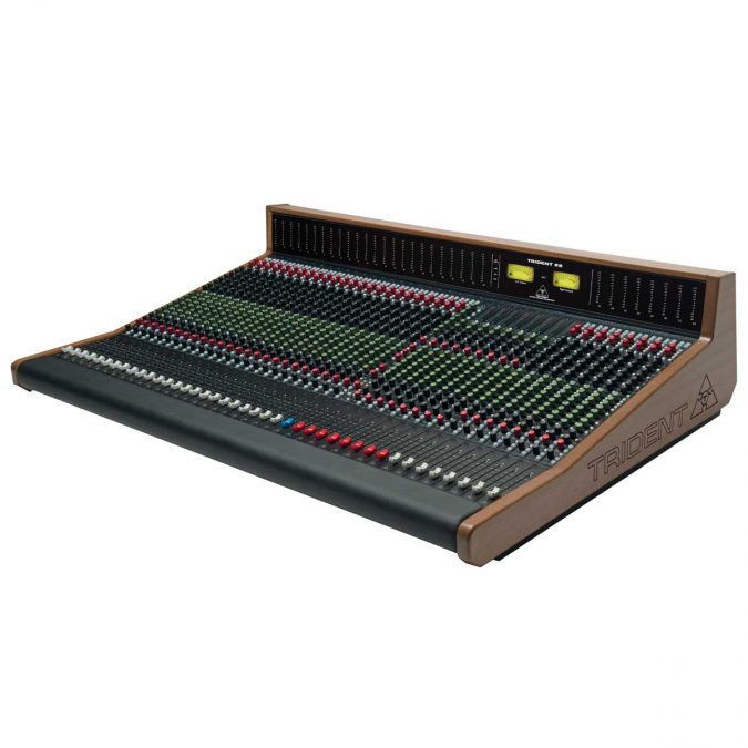 Trident 88 Series Analog Recording Console With Meter Bridge