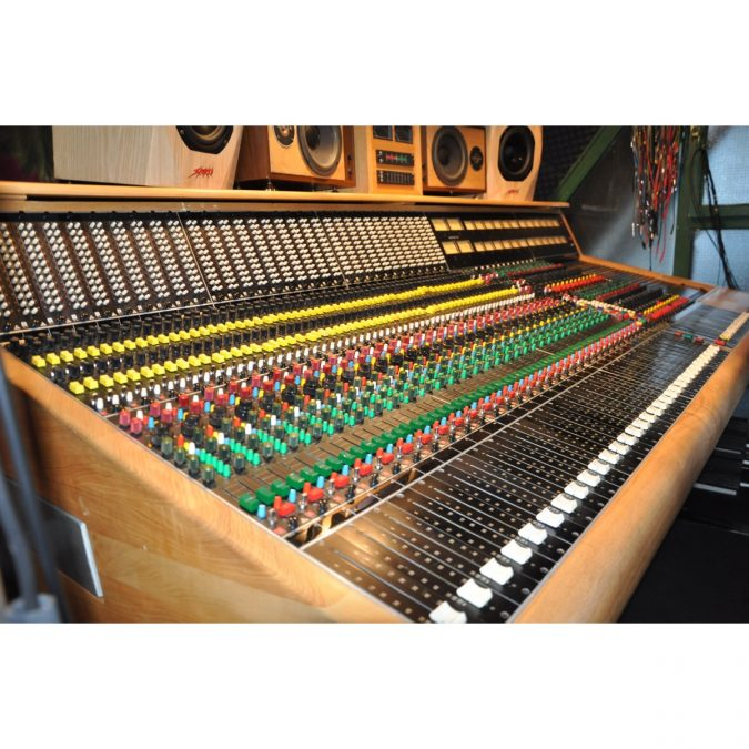 Trident TSM Analog Recording Console (Vintage)