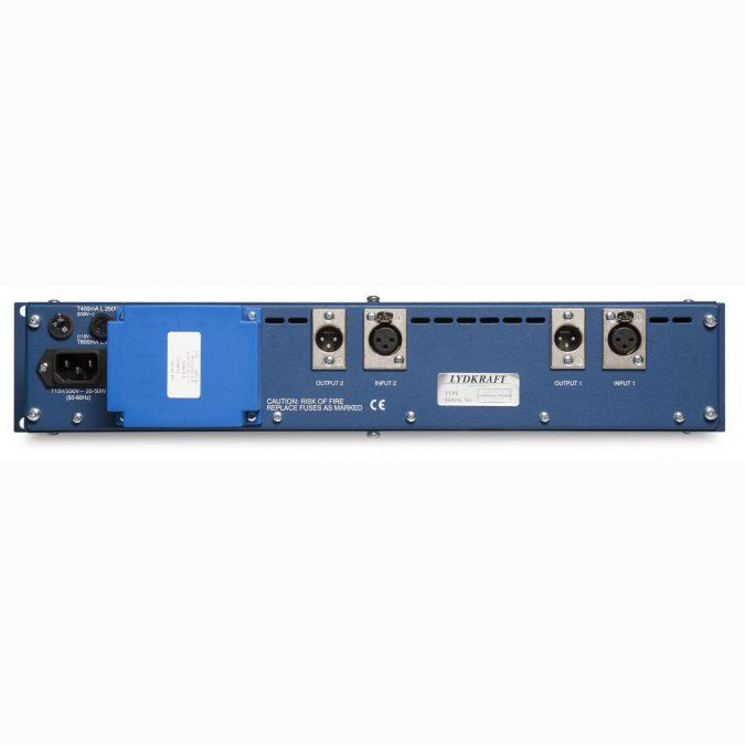 Tube-Tech MP2A 2 Channel Microphone Preamplifier and DI