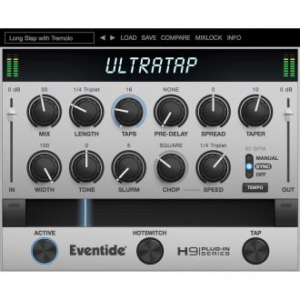 Eventide UltraTap Multi-Tap Effect Reverb Plugin