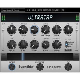 Eventide UltraTap Multi-Tap Effect Reverb Plugin