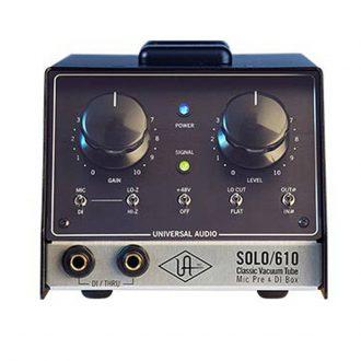 Universal Audio SOLO/610 Classic Tube Preamplifier
