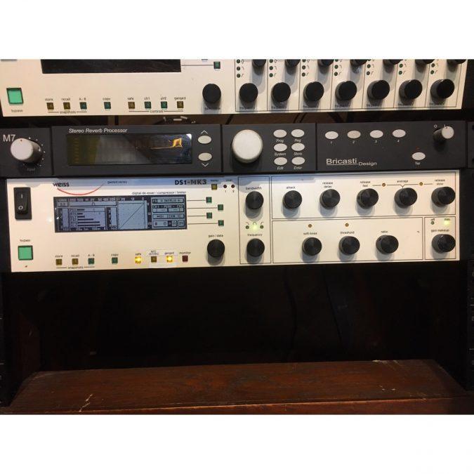 Weiss DS1 MKIII (Used) Digital mastering compressor/limiter/de-esser – 96 kHz *SOLD*