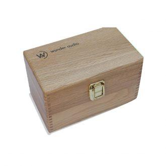 Wunder Audio CM-40/50 Mic Plush Oak Box